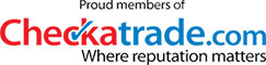 Aztec Electrical are Proud Members of Checkatrade.com